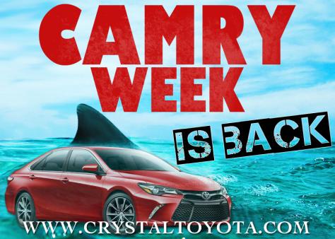 CAMRY WEEK